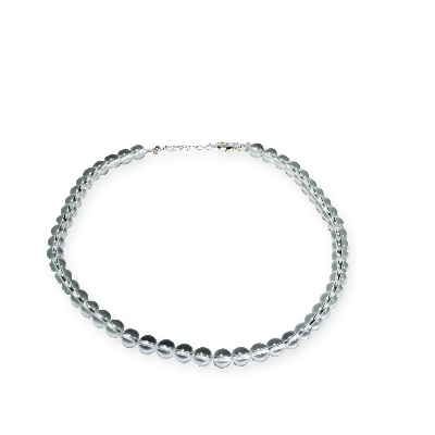 Cristal - collier de perles 6/8mm