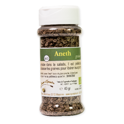 Aneth graines bio - pot distributeur de 40g